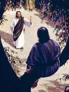 Isus i Zakej