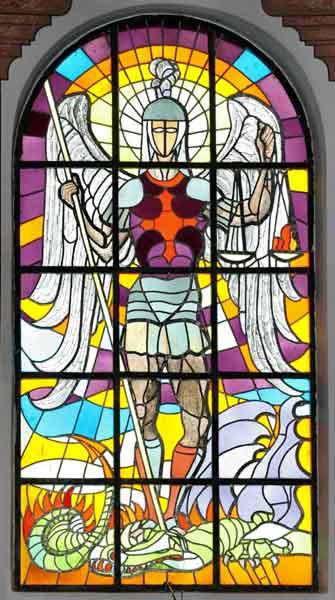 Vitraj iz oltara