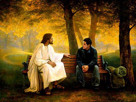 Isus razgovara s mladicem
