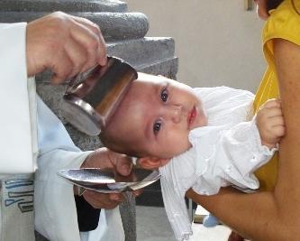 krstenje djeteta