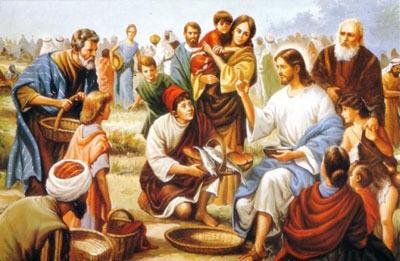 Isus umnaza kruh