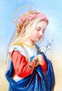 Marija kao djevojcica