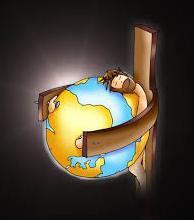 raspeti Isus grli svijet