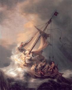 Isus i apostoli u oluji