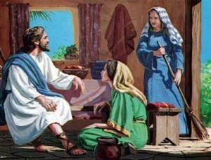 Isus Marija Marta